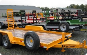 Custom Built Kaufman Trailer