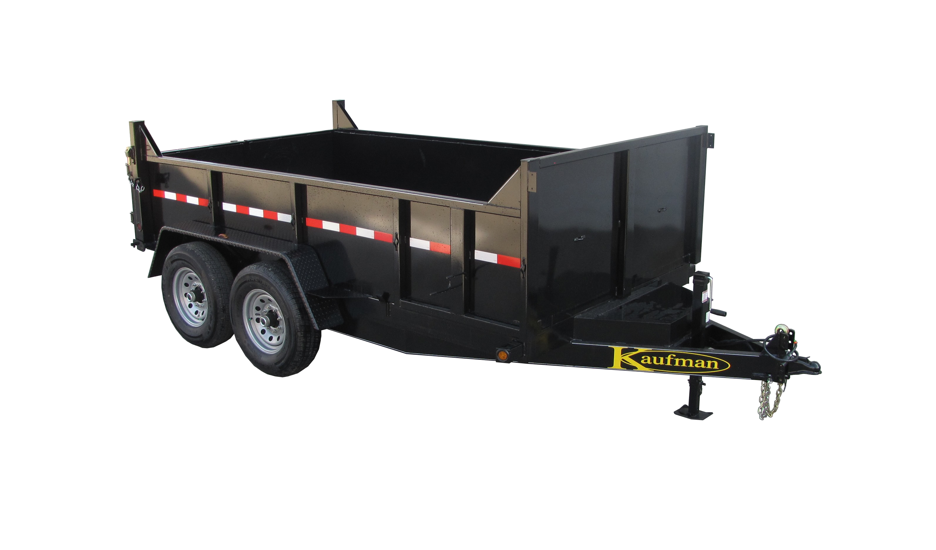 12000 GVWR Deluxe Dump Trailer deluxe medium duty dump trailer for sale by kaufman trailers! 4 Prong Trailer Wiring Diagram at bayanpartner.co