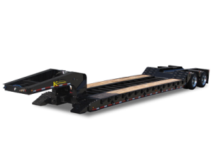 Detachable Gooseneck Spring Ride Trailers
