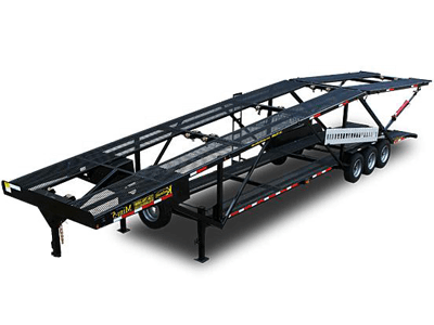 Double Deck Car Hauler Trailer 11 car trailers for sale by kaufman trailers Car Hauler Truck at crackthecode.co