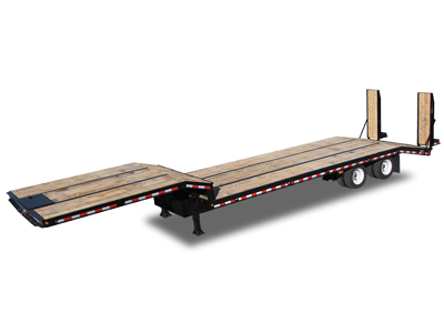 Flatbed Dropdeck Tandem Trailers by Kaufman
