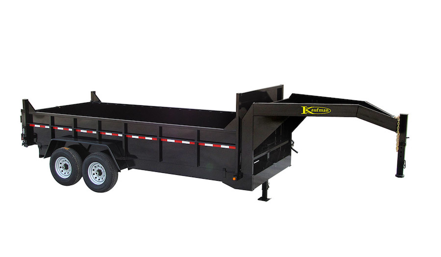 Heavy Duty Gooseneck Dump Trailers