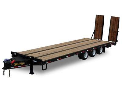 Heavy Equipment Flatbed Triaxle Trailers