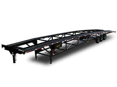 Kaufman Triaxle Wedge Car Trailers