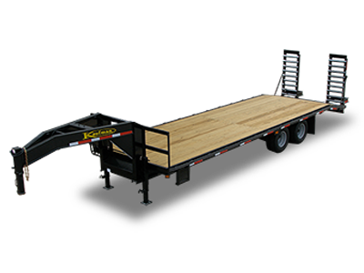 Gooseneck Flatbed Trailers by Kaufman