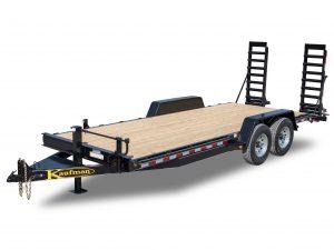 Deluxe Equipment Trailers - Wood Floor
