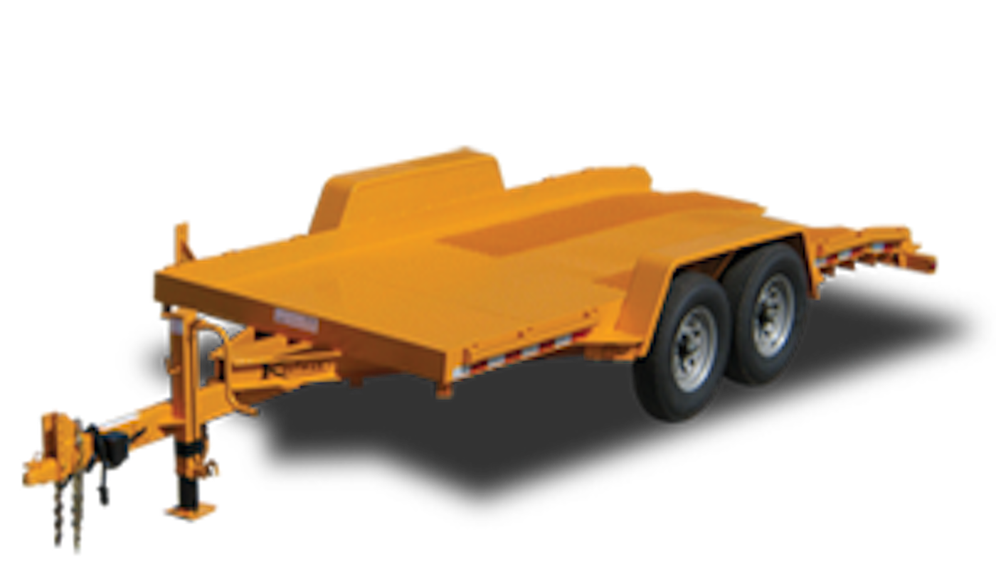 Gravity Tilt Equipment Trailers