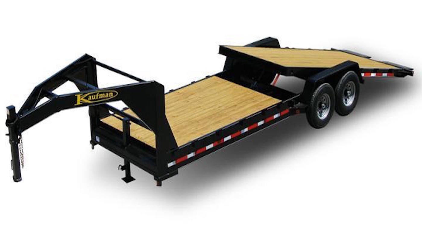 Gooseneck Tilt Equipment Trailers