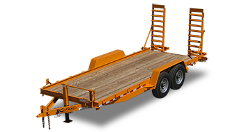 Skid Steer Equipment Trailer