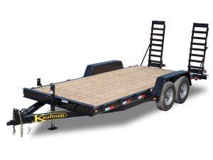 12000 GVWR Standard Wood Floor Equipment Trailer