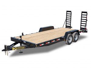14000 GVWR Standard Wood Floor Equipment Trailer