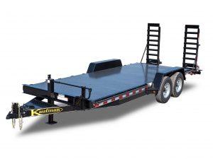 15000 GVWR Deluxe Diamond Floor Equipment Trailer