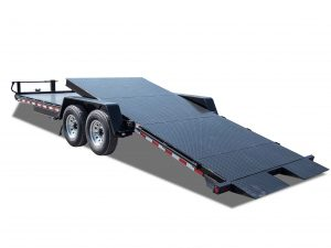 15000 GVWR Deluxe Diamond Floor Tilt Equipment Trailer