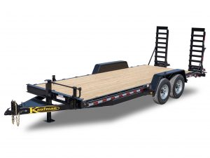 15000 GVWR Deluxe Wood Floor Equipment Trailer