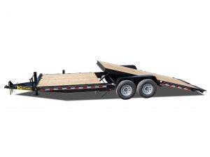 15000 GVWR Deluxe Wood Floor Tilt Equipment Trailer