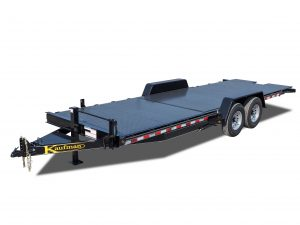 15,000 GVWR Diamond Floor Tilt Equipment Trailer