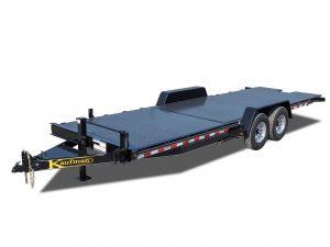 15,000 GVWR Diamond Floor Tilt Equipment Trailer