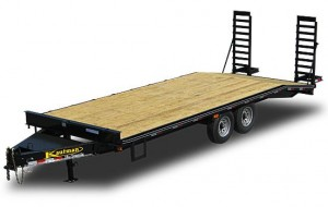 16000 GVWR Deluxe Flatbed Trailer