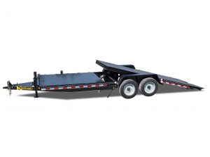 17000 GVWR Deluxe Diamond Floor Tilt Equipment Trailer
