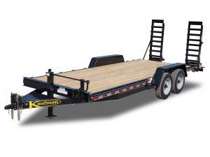 17000 GVWR Deluxe Wood Floor Equipment Trailer
