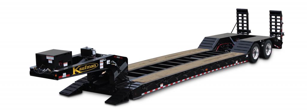 35 Ton Detachable Gooseneck Air Ride Trailer  With