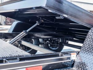 Diamond Floor Tilt Equipment Trailer Damper Cushion Cylinder For Controlled Lowering of Tilt Bed