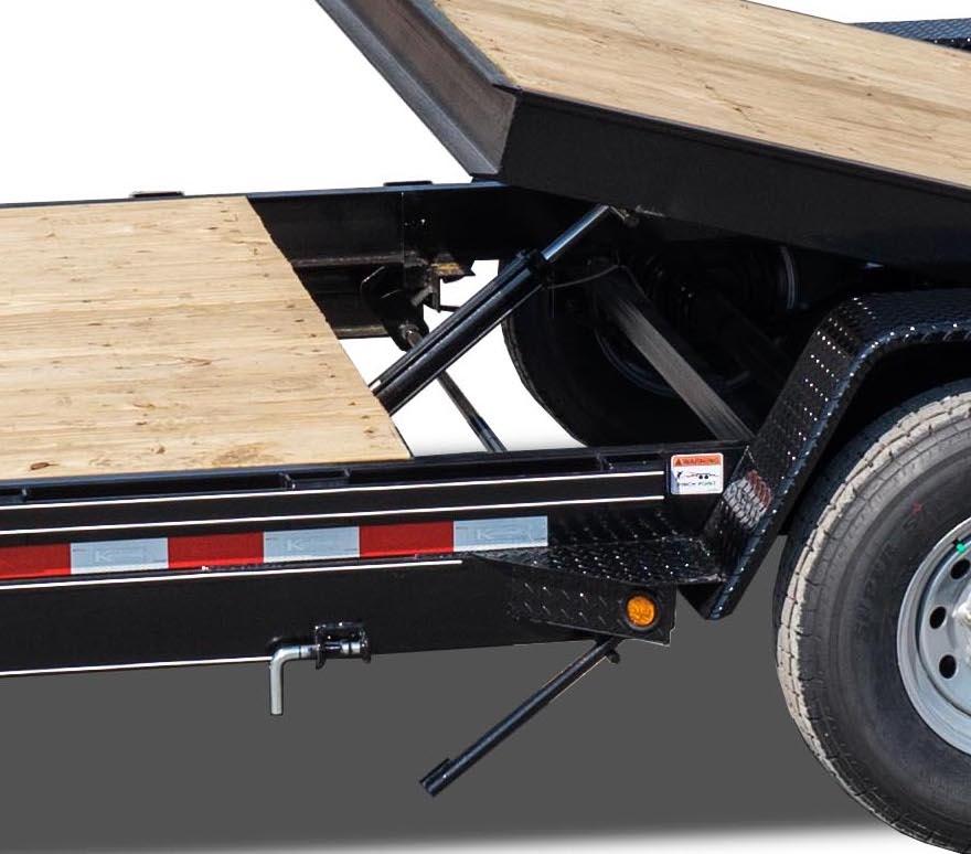 Diagram  15000 Gvwr Deluxe Wood Floor Tilt Equipment