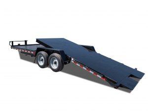 Deluxe Tilt Equipment Trailers - Diamond Floor