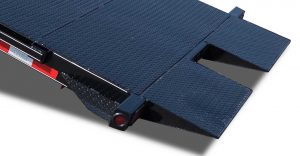 Diamond Floor Tilt Equipment Trailer Knife Edge Toe Plates