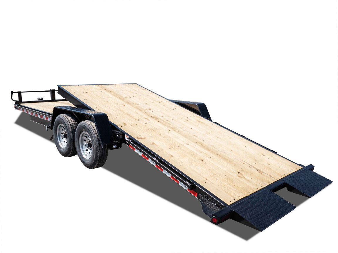 15000 Gvwr Deluxe Wood Floor Tilt Equipment Trailer By Kaufman