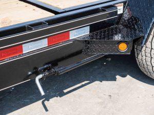 Tilt Equipment Trailer Latch and Fender Step