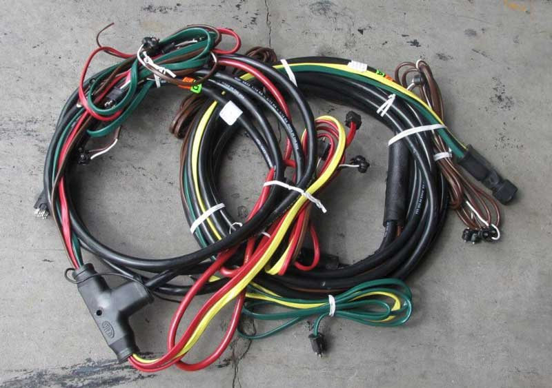 Wiring Harness 17000 gvwr deluxe wood floor tilt equipment trailer kaufman trailers kaufman trailer wiring harness at bayanpartner.co