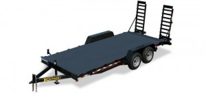 Diamond Deck Equipment Trailer
