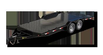 Deluxe Diamond Floor Car Trailers