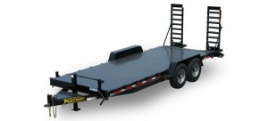 Diamond Floor Equipment Trailer