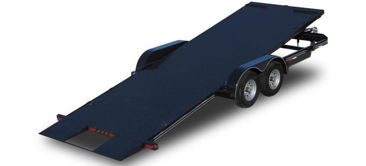 Diamond Floor Tilt Car Trailer