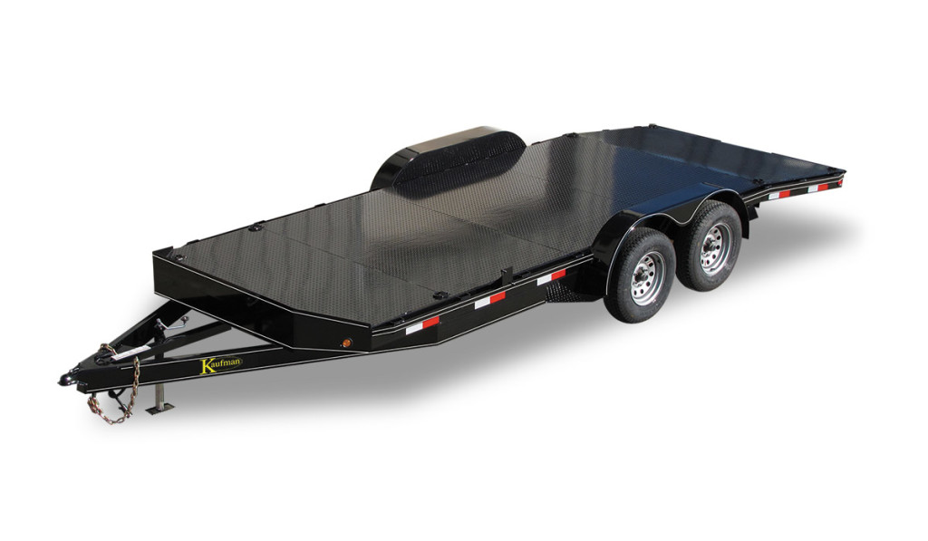 Deluxe 7000 GVWR Car Trailer by Kaufman Trailers