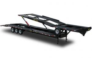 Double Deck 4 Car Hauler Trailer