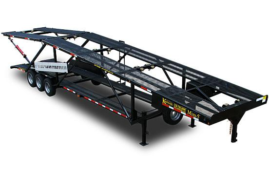 Double Deck Mini 5 Car Hauler Trailer