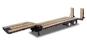 Flatbed Dropdeck Trailer