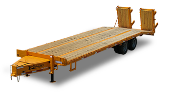Flatbed Paver Trailer