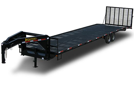 Gooseneck Golf Cart Trailer