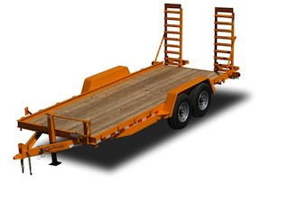 Heavy Duty Skid Steer Equipment Trailer