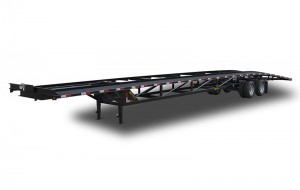 Low Profile Wedge Car Hauler Trailer