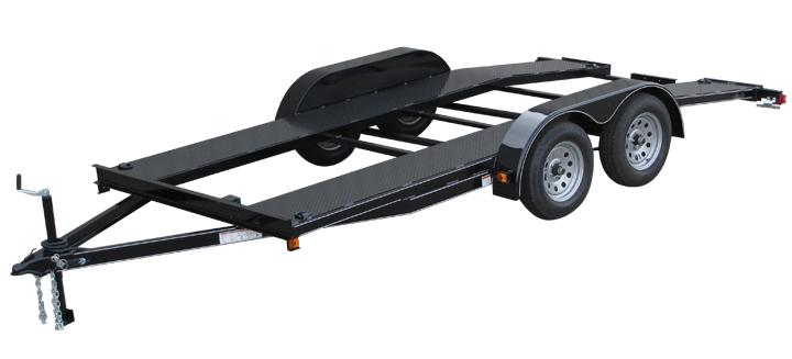 Open Center Car Trailer