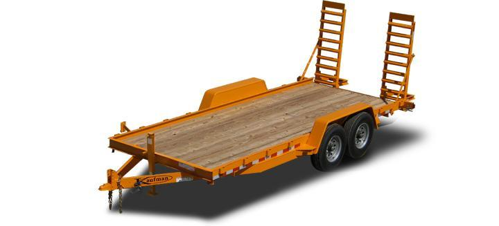 Skid Steer Trailers for Sale by Kaufman Trailers! Call 866