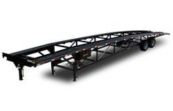 Tandem Axle Wedge Car Hauler Trailer