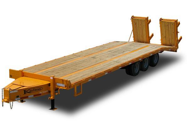 38500 GVWR Tri-Axle Paver Flatbed Trailer