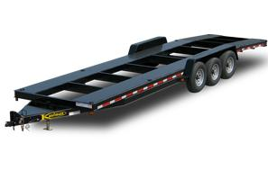 Triaxle Two Car Hauler Trailer
