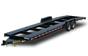 Two Car Hauler Trailer